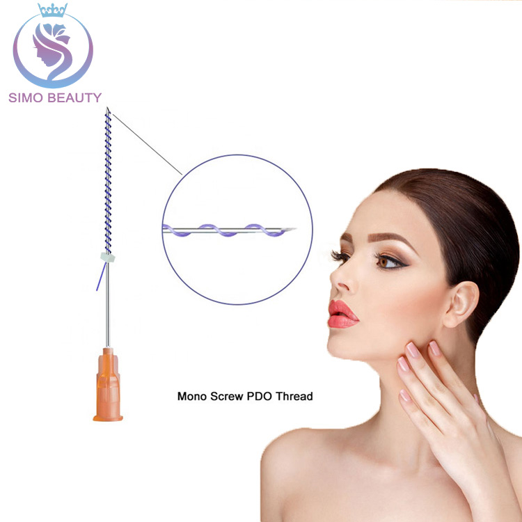 Hilo tensor face tightening mono screw pdo thread lift