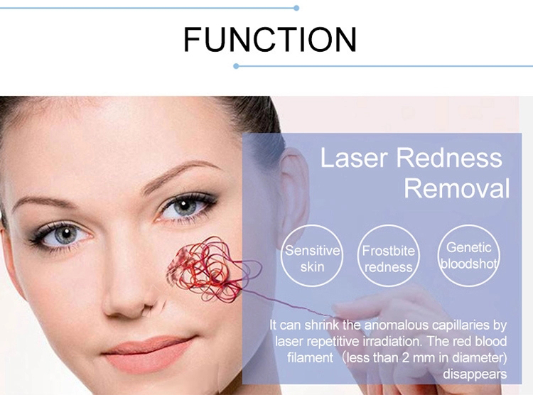 Beauty salon medical equipment 980nm diode laser spider veins blood vessels removal treatment machine