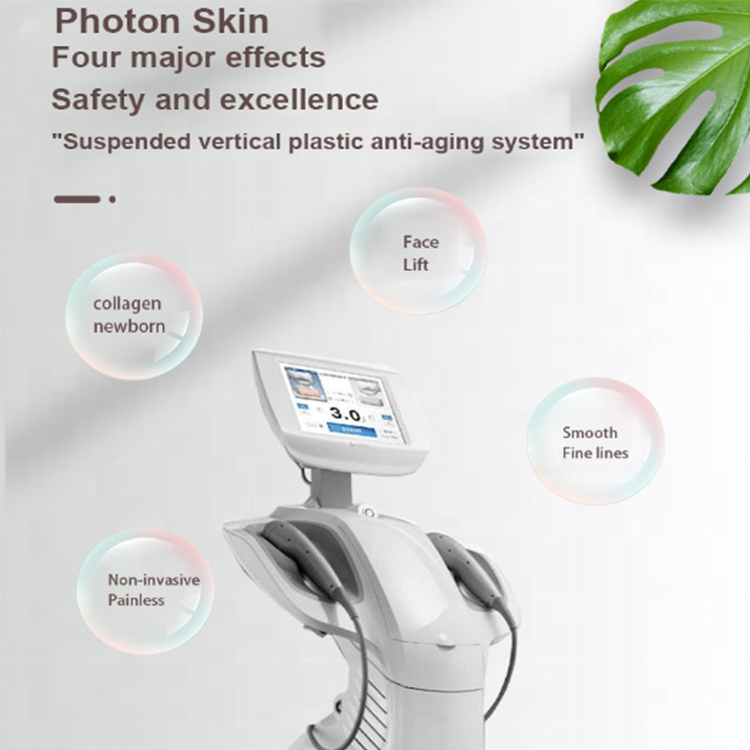 Newest 7 in 1 no invasive ultrasound HIFU beauty machine for face lifting and body slimming